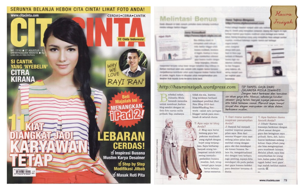 cita-cinta Media Exposure: CITA CINTA #17