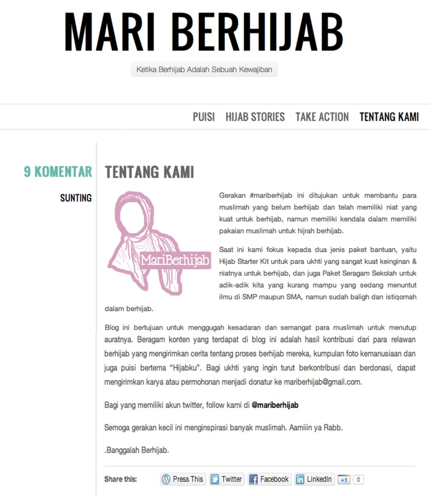 "mariberhijab ""Mari Berhijab"" Movement"