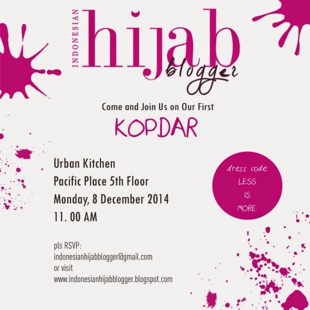 poaster2-ihb KOPDAR Indonesian Hijab Blogger